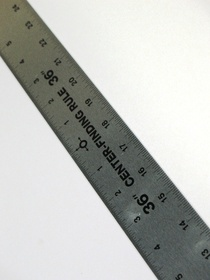 Center Finding Ruler 36