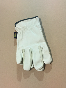 Leather Gloves - Med Size
