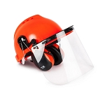 TR-Industrial Safety Helmet with Hearing Protection