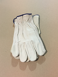 Leather Work Gloves-Large